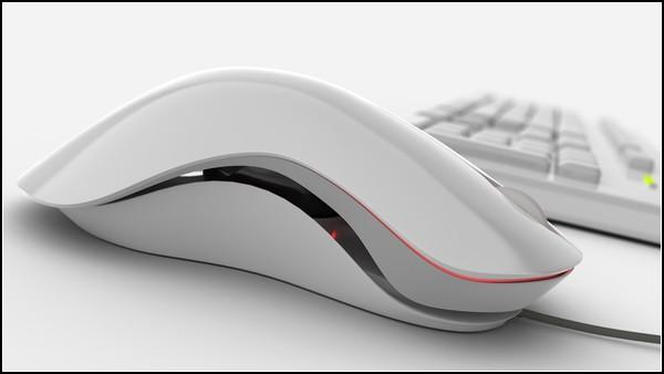 Красивая компьютерная мышь