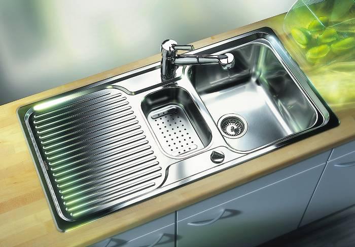 Выбор кухонной мойки по материалу – плюсы и минусы различных моек для кухни