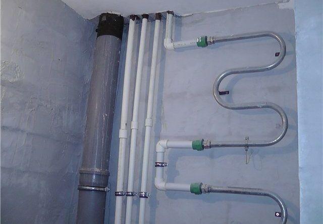 Стояк водоснабжения