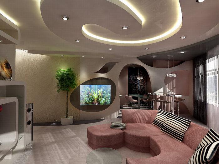 Дизайн под гостинную