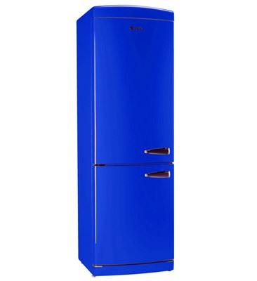 Кобальтово-синий холодильник