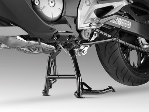 Мотоцикл на подножке