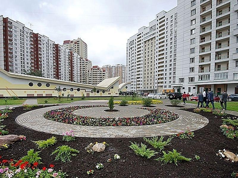 Озеленение квартала