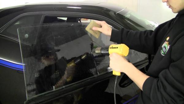 Тонирования автомобиля своими руками